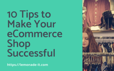 10 Tips to Make Your eCommerce Shop Successful