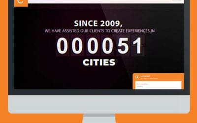 Corporate Website Design project for CSquare Communication