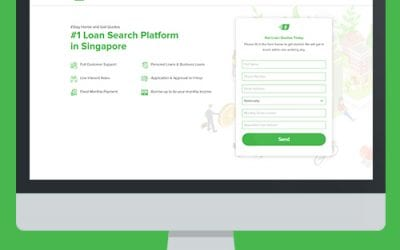 Corporate Website Design Project for Loan SG